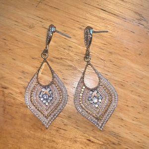 Gorgeous Faux Diamond/Pearl Earrings✨